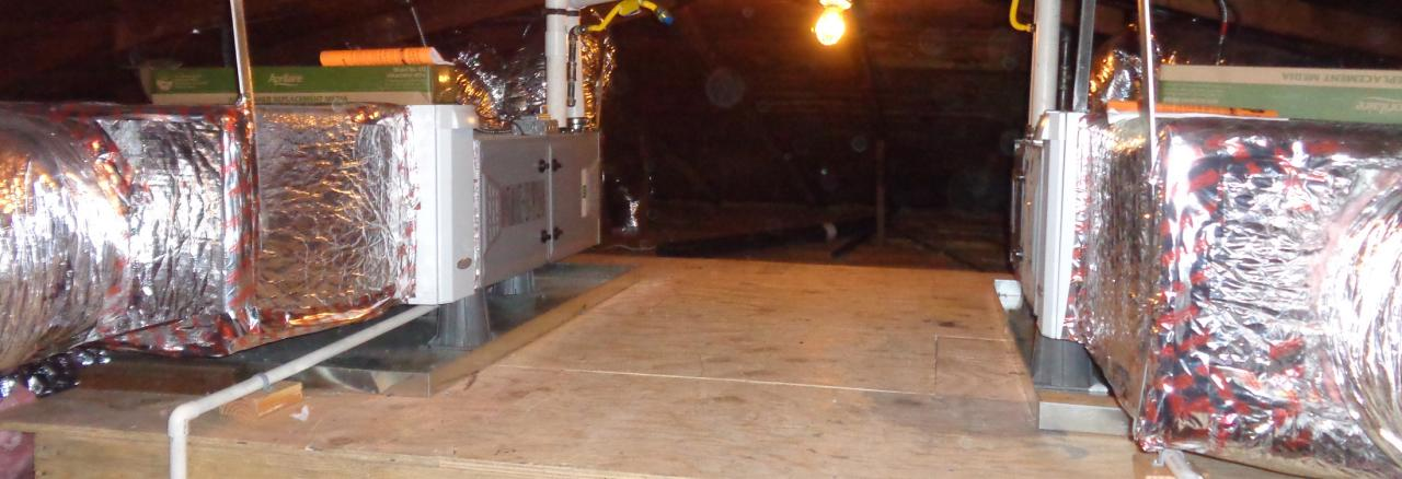All Things Good, Furnace install in attic, CA